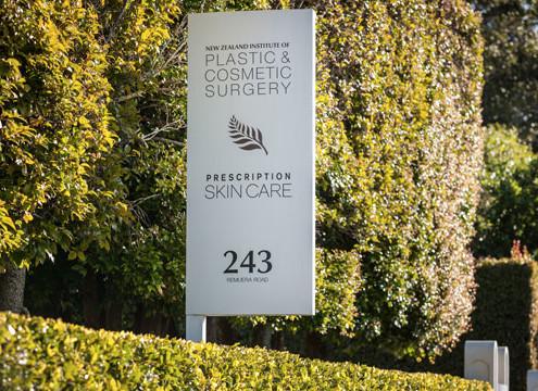 NZIPCS Entrance Sign